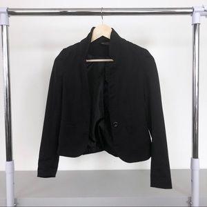 H&M Divided Black Single Button Blazer